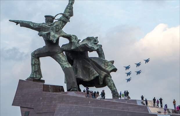 Авиашоу в Крыму авиашоу, крым, севастополь