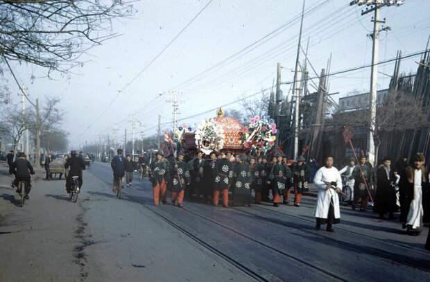 Пекин в 1947 году