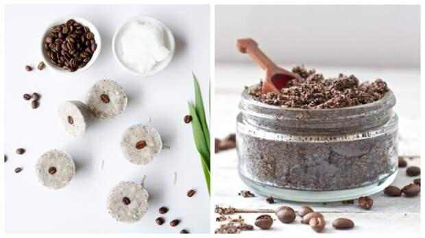 Кофейно-кокосовый скраб против целлюлита и растяжек в домашних условиях