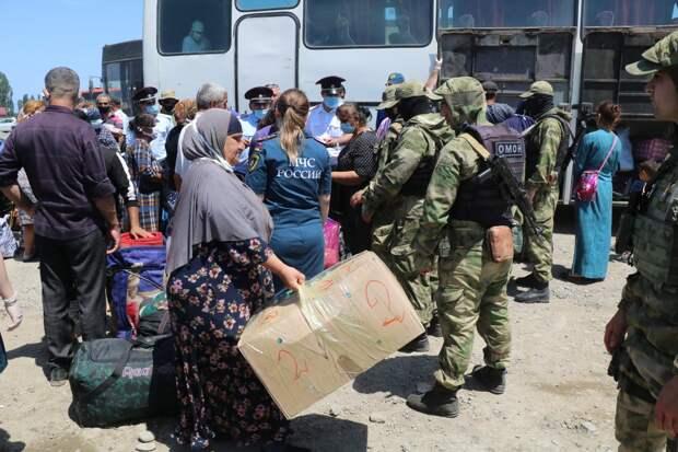Из Дагестана через российско-азербайджанскую границу отправлены больше 150 гостей из ближнего зарубежья