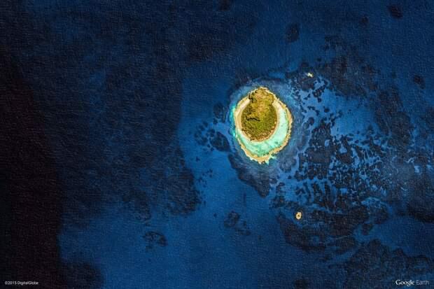 44 изумительных абстрактных снимка с Google Earth