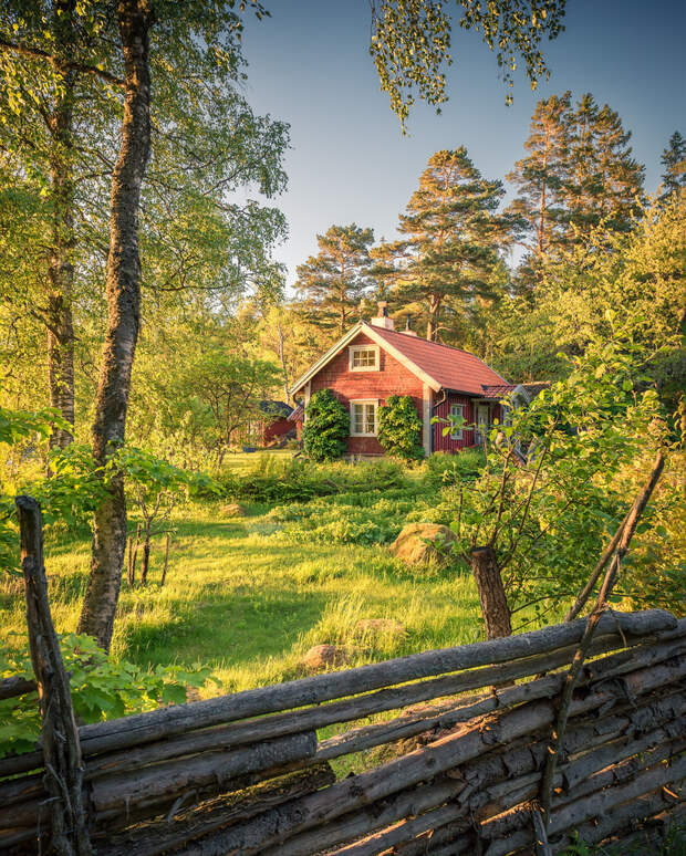 Красивые природные пейзажи Швеции Кристиана Линдстена