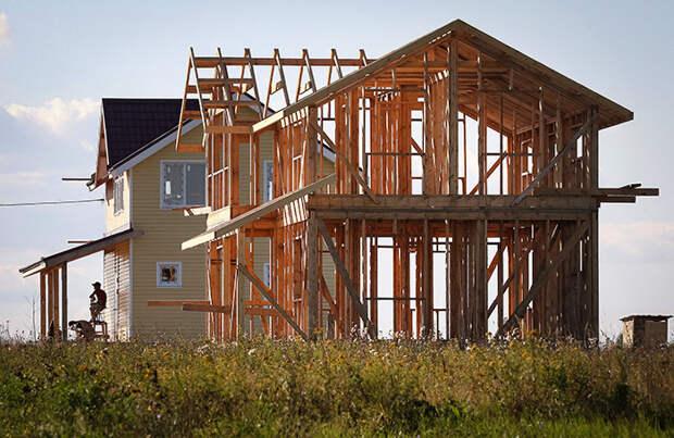 Для строительства домов в России не хватает древесины