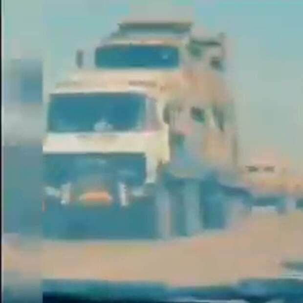 """Панцирь"" на базе Камаза в районе Сирта"
