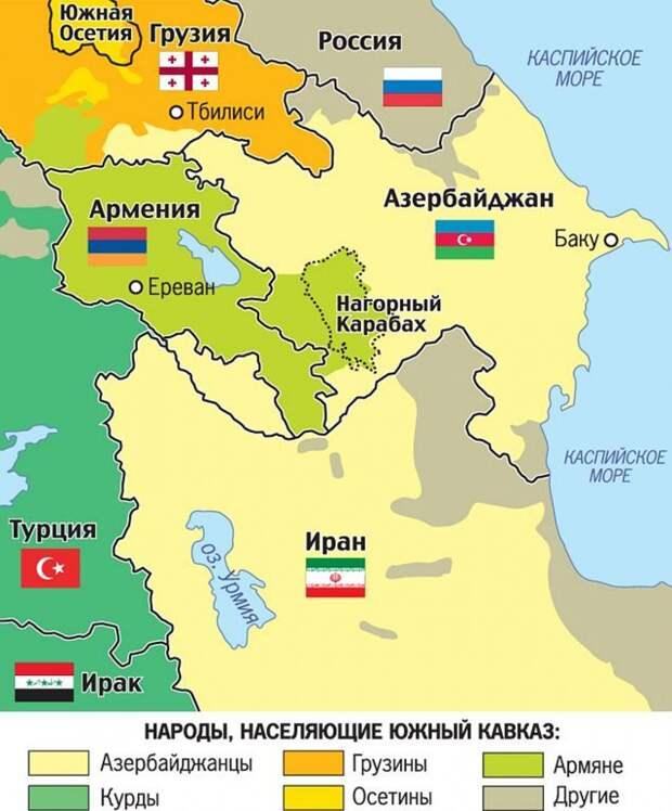Война на Кавказе. Карабах поджигают