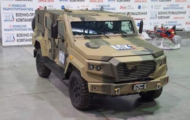 Российские инженеры придумали новое семейство бронеавтомобилей