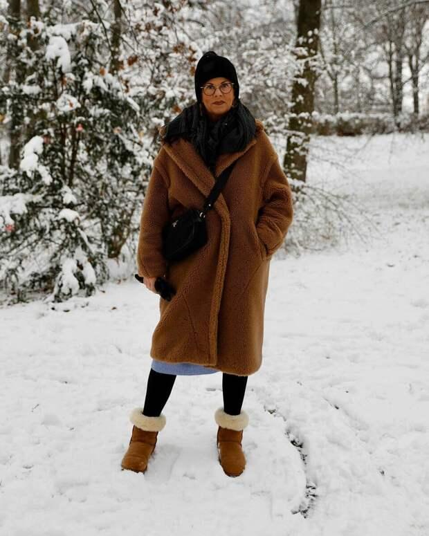 Красоте мороз не страшен: 3 вида теплой верхней одежды для женщин 45+