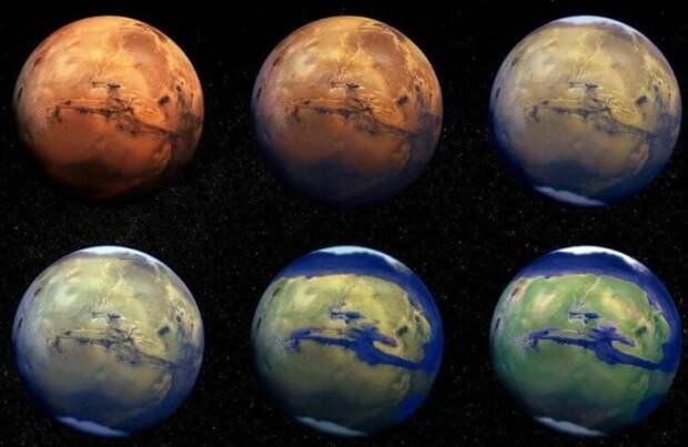 Астрономы рассказали, как выглядел Марс миллионы лет назад