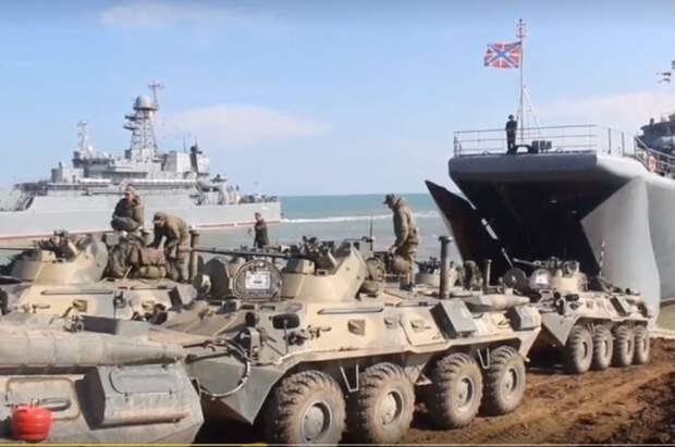 Минобороны возвращает из Крыма участвовавшие в учениях войска