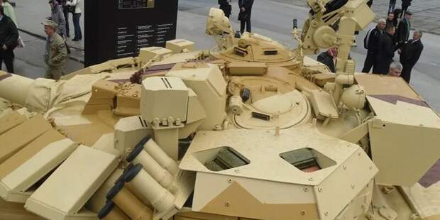 Российские танки защитят «по-умному» от «Спайков» и «Джавелинов»