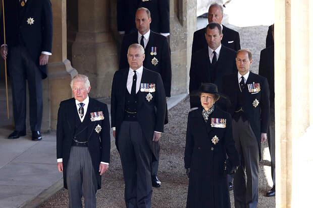 Кто присутствовал на похоронах принца Филиппа