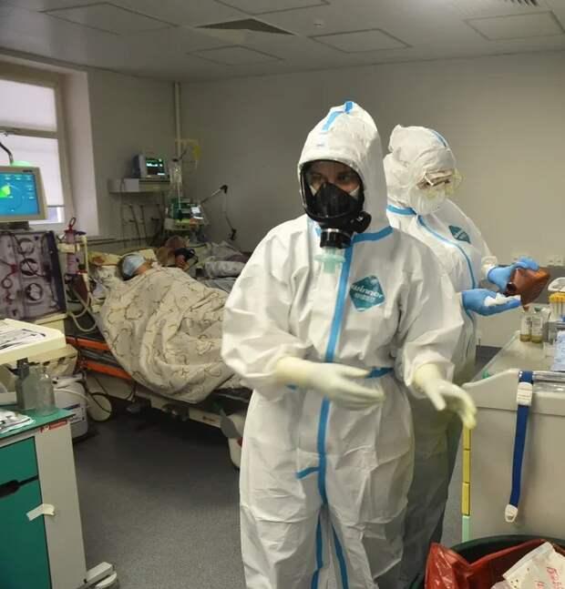 Медики на передовой борьбы с коронавирусом