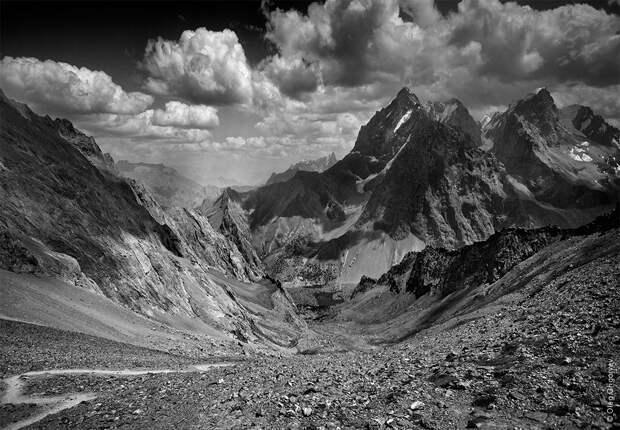 bnwmountains01 Черно белые фотографии гор