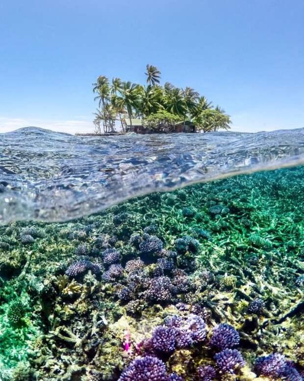 Тропический рай Микронезия и Маршалловы острова на снимках Роберта Майкла Пула
