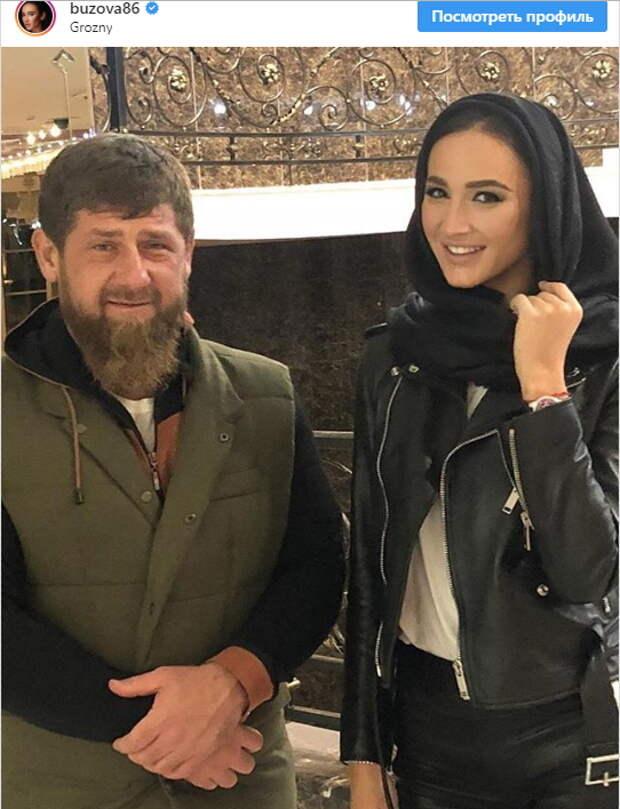 Бузовой понравилось в гостях у Кадырова (ФОТО)