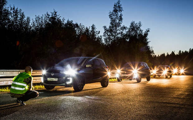 Недорогие автомобили: чьи фары лучше? «За рулем» знает ответ