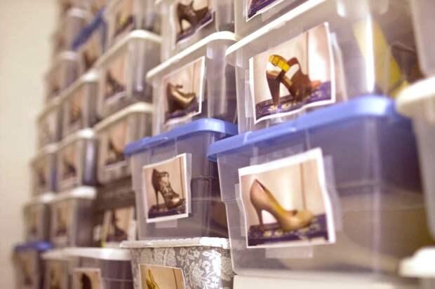 Как организовать хранение обуви
