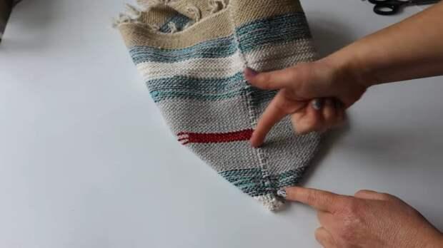 Ухватила дешёвые коврики в Леруа и сшила из них прекрасную вещь