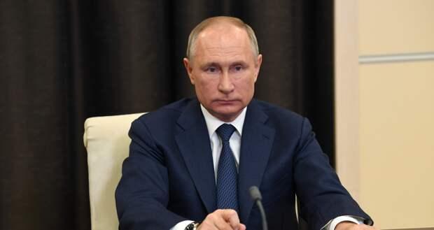 Путин заявил о готовности сотрудничать с президентом США Байденом