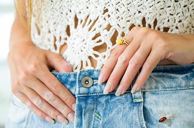 Кольцо с желтым янтарем