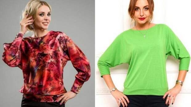 «Блузка за час». Как сшить очень просто красивую блузку