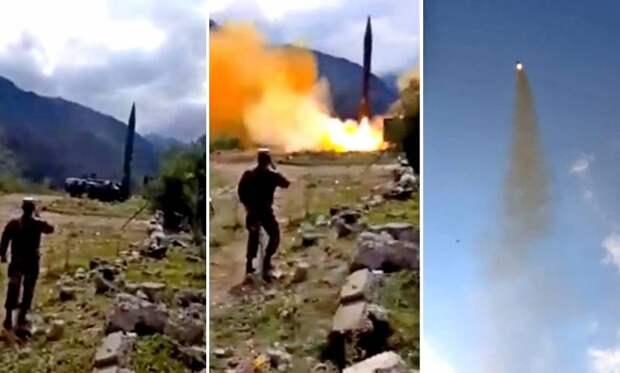 Армения применила самую мощную ракету в своем арсенале 9К72 «Эльбрус»