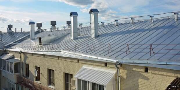 В шестнадцати домах Ховрина отремонтируют кровли крыш