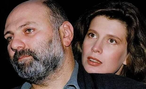 И. Метлицкая с мужем С. Газаровым