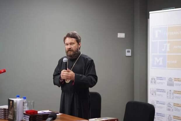 Митрополит Иларион представил книгу «Евангелие Достоевского»