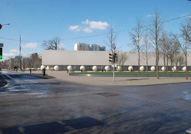 Огромные сферы станут опорами нового здания станции БКЛ/Пресс-служба Москомархитектуры