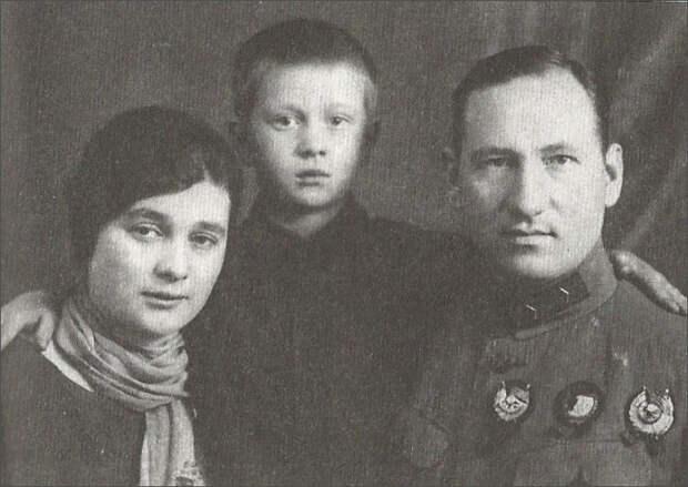 Семья генерала Ефремова./Фото: strannik-sergey.ru