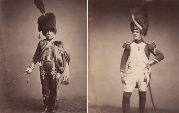Солдаты наполеоновских войн.