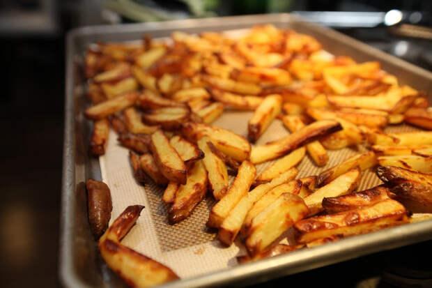 Картофель фри в духовке: лучше, чем в МакДональдсе