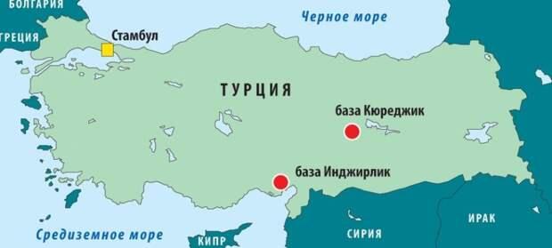 На базе «Инджирлик» в Турции, где хранится ядерное оружие, произошел инцидент