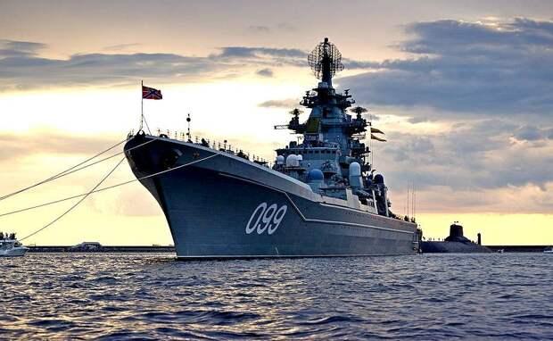 Российский крейсер на поздравительной открытке для американских ВМС – это сильно