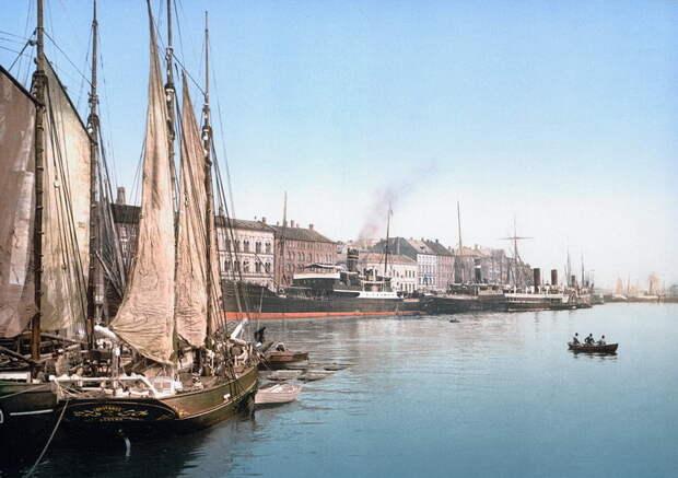 Верфь в Бремерхольме во второй половине XIX века - Датский флот Нового времени: пороки и успехи   Warspot.ru