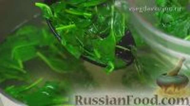 Фото приготовления рецепта: Ботвинья - шаг №6