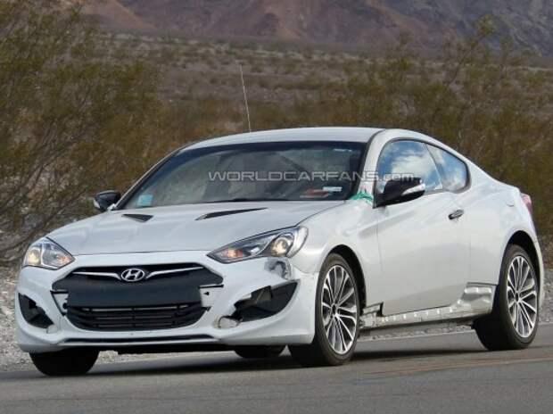 Hyundai тестирует загадочную заднеприводную модель