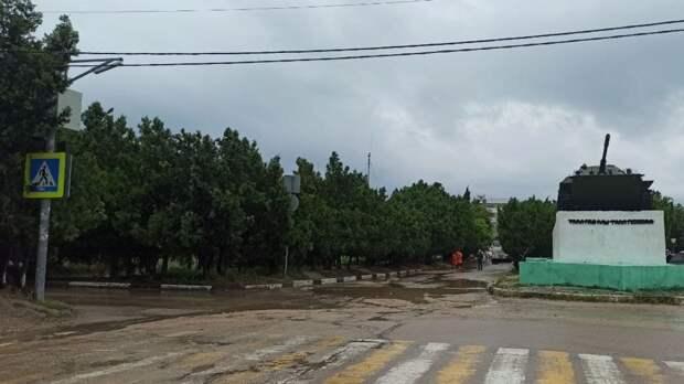 Севастополь временно останется без холодной воды
