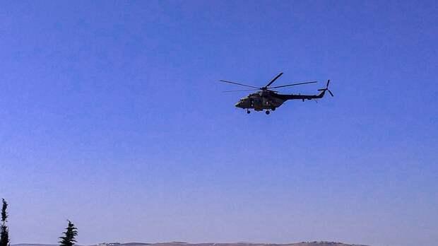 Пятеро военных погибли при падении вертолета в Перу