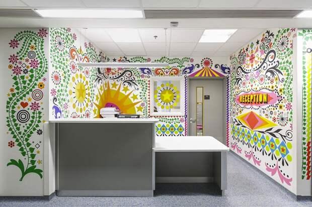 Художники объединяются, чтобы превратить детскую больницу в уютное место