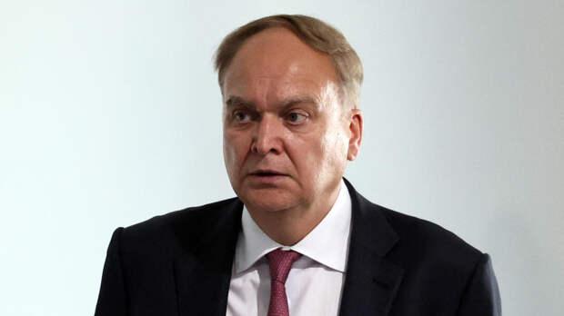 Антонов назвал печальным заявление США о новых санкциях