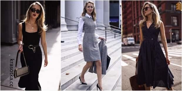 Сарафаны для офиса: 10 великолепных идей для соблюдения дресс-кода
