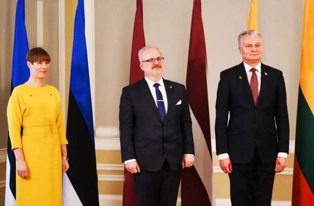 Президенты стран Прибалтики  прокляли Советский Союз