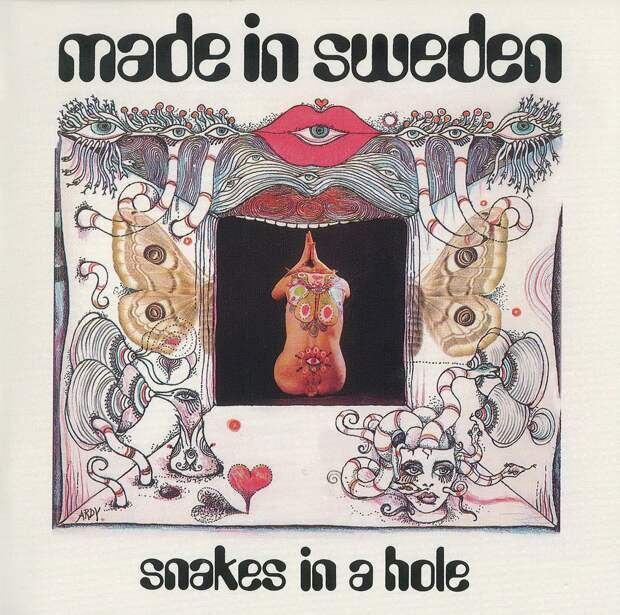 Made In Sweden. Snakes In A Hole 1969