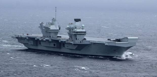 """С """"Королевой Елизаветой"""" Великобритания намеревается вновь стать владычицей морей"""