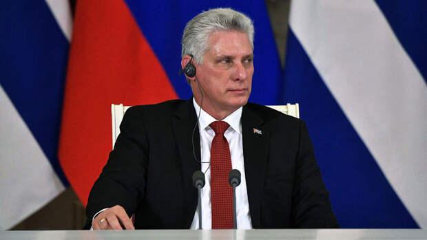 Президент Кубы Мигель Диас-Канель возглавил Компартию