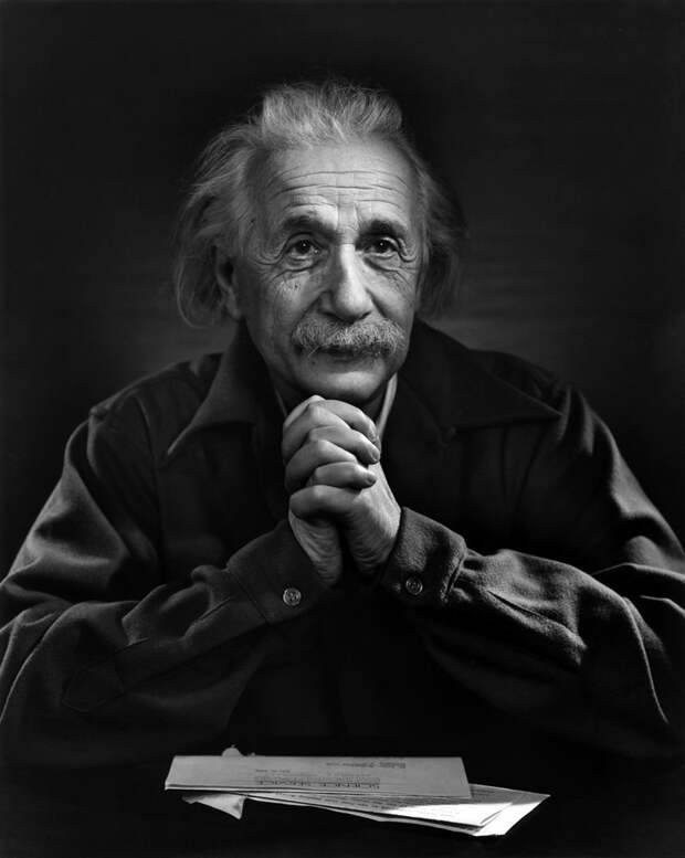 Albert Einstein, Princeton University 1948, by Yousuf Karsh