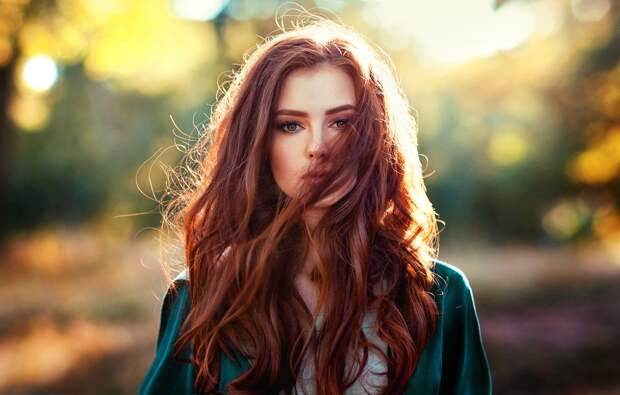 Обои girl, photo, photographer, model, redhead, portrait, Olga ...