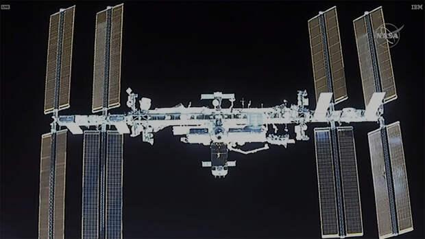Частный космический корабль Crew Dragon успешно пристыковался к МКС